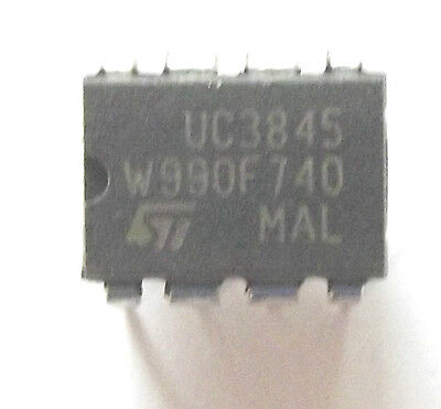 UC3845N Marked UC3845  ST Current Mode PWM Controller 1A 8-Pin PDIP