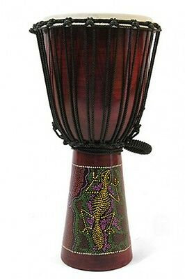 Extra Large Painted Djembe
