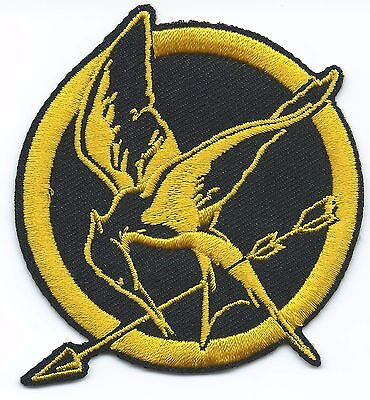 The Hunger Games Embroidered Patch Iron-on Good Luck Magic Charm