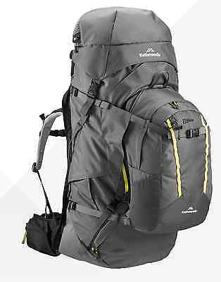 Kathmandu Interloper gridTECH 70L Hiking Travel Backpack Luggage with Daypack v2