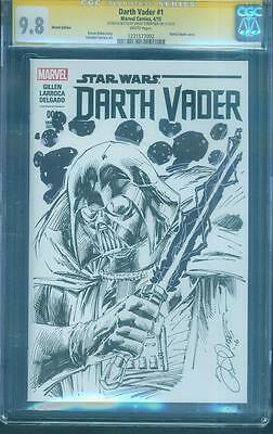 Star Wars 1 CGC SS 9.8 Darth Vader Variant Robertson Rogue One art sketch