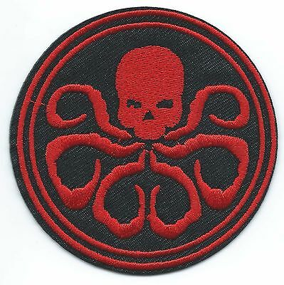 Hydra Embroidered Patch Iron-on Good Luck Magic Charm
