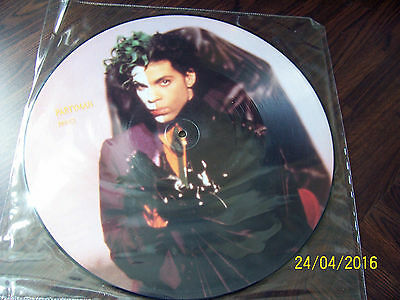 """Prince - Partyman . 12"""" Picture disc"""