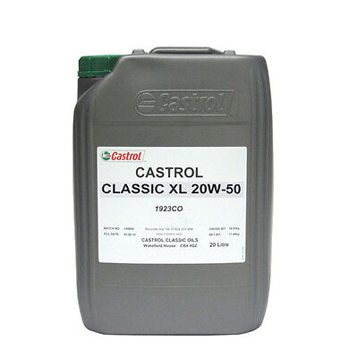 Castrol Classic XL 20W-50 20 litres engine oil