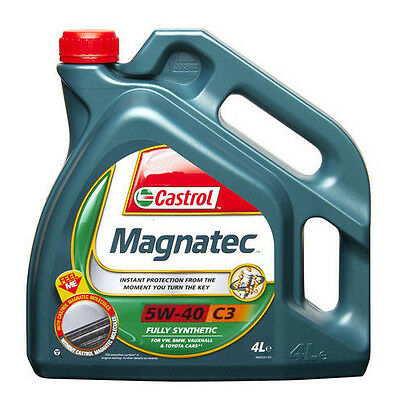 Castrol Magnatec 5W40 C3 Fully Synthetic Engine Oil 4L