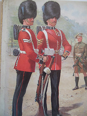 Military Postcard- The Irish Guards-By Harry Payne