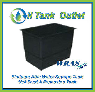 Attic Water Storage Tank 10/4 Feed & Expansion Tank  - WRAS Approved
