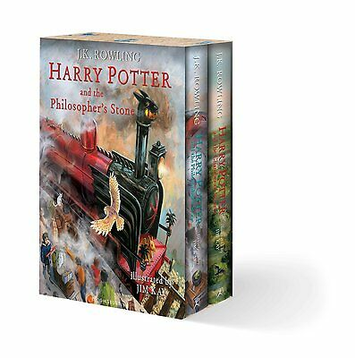 Harry Potter: Illustrated Edition Box Set (Parts 1 & 2) - Bloomsbury UK Edition