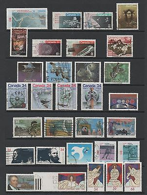 Canada 1986 **outstanding Collection Of Sets & Singles** Fine Used