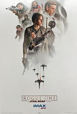ROGUE ONE: A STAR WARS STORY Original Promo Movie Poster 13x19 AMC IMAX Week 3