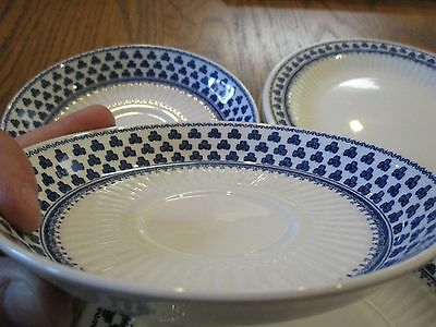 Adams Brentwood English Ironstone Dishes (7) Made in England --Nice Condition!