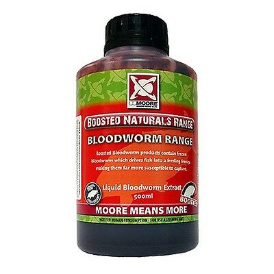 CC Moore NEW 500ml Fishing Boosted Bloodworm Liquid - 92539