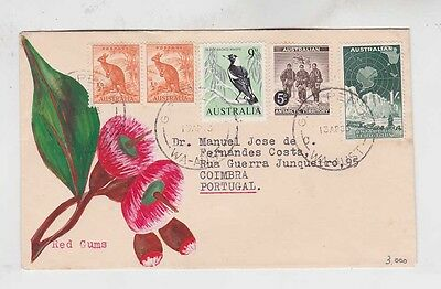 1965 combined on cover..to portugal     g1091