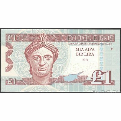TWN - CYPRUS 1 Pound 2014 UNC Private issue