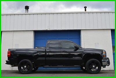 2014 Chevrolet Silverado 1500 LT Double Cab N0T Crew Cab 4X4 4WD 5.3L V8 Blacked Repairable Rebuildable Salvage Lot Drives Great Project Builder Fixer Easy Fix