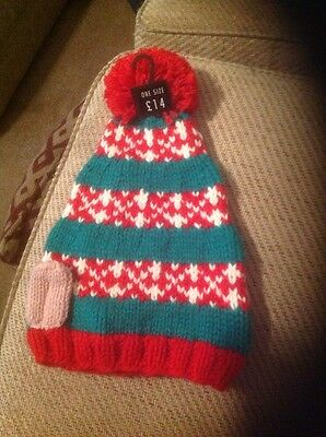 Elf knitted hat