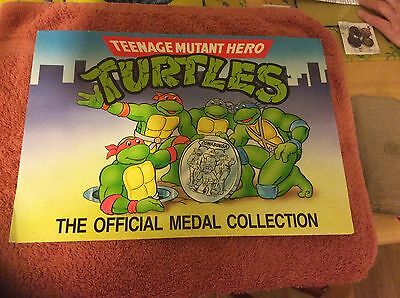 Teenage Mutant Hero Turtles Official Medal Collection