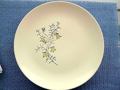 Blue Ridge Pottery Plate Golden Bells Southern Collectible Gift Deal