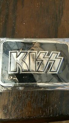 Kiss belt buckle not aucoin