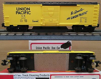 eSPee™ TRACK CLEANING BOX CAR - UP / Union Pacific - O Scale