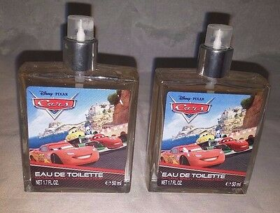 2 x Disney Cars Eau De Toilette 50ml
