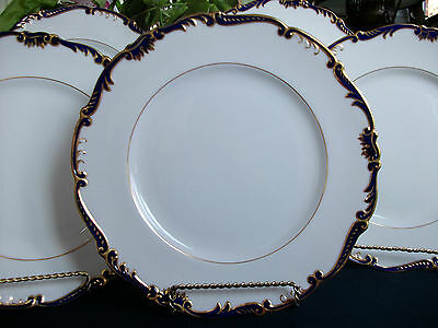 Coalport Admiral- Cobalt/gold (1962)- Dinner Plate- Excellent! Elegant! 7 Sold!!