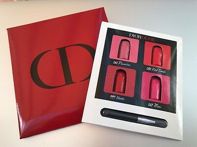 Authentic Dior Diorouge Lipstick Sample Card Travel Size Birthday Gift