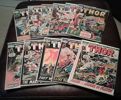 Thor / Journey Into Mystery - 1962 Marvel Comics - 22 Issue Lot - F/VF