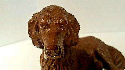 Red Mill Irish Setter Dog Vintage Figurine