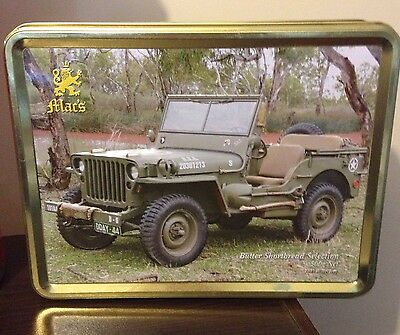 Biscuit Tin Mac's 1943 Willys Jeep