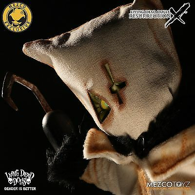 LIVING DEAD DOLLS Resurrection X ANGUS Glow in Dark Ghostly White VARIANT