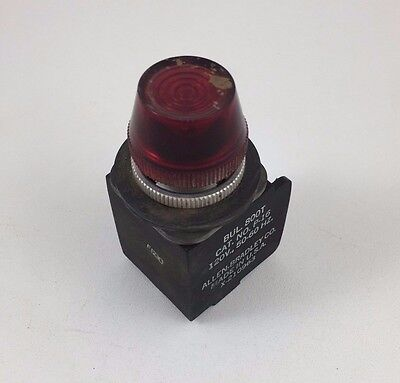 Allen-Bradley Red Pilot Light 120V AC 800T-P16-R 30MM 800TP16R
