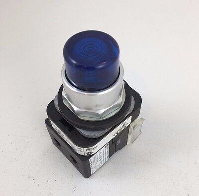 Allen-Bradley Blue Test Push Button Pilot Light 800T-PT16G 30MM 800T-PT16B