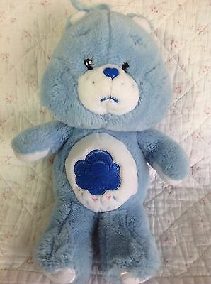 "Grumpy Care Bear 13"" 2002 Cloud Plush Soft Toy"
