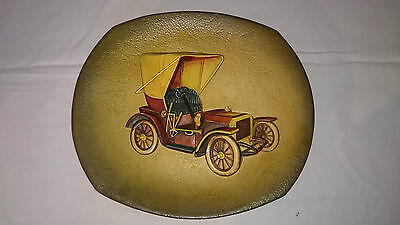 Bossons Car Wall Hanging Plate - Collectable