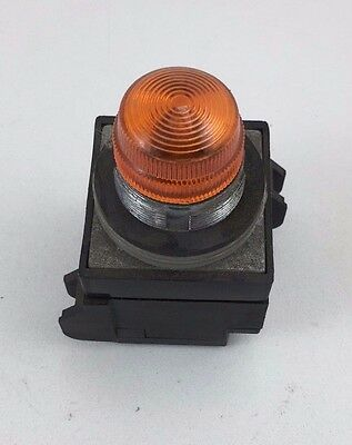 General Electric Orange Pilot 600VAC Light CR104PXL01M CR104PLG35M CR104PXG25