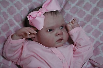 Reborn CUSTOM MADE GABRIEL ooak fake baby life like vinyl art ARTIST doll