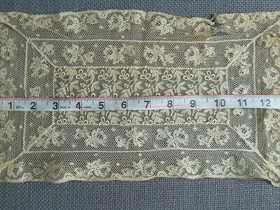 Antique Lace Doily Mixed Net Valenciennes Lace French