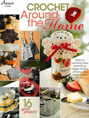 ~ ~ ~ Annie's Attic ~ Around The Home ~ 16 Great Crochet Patterns ~ ~ ~