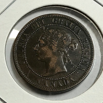 Canada 1884 One Large Cent Higher Grade Coin