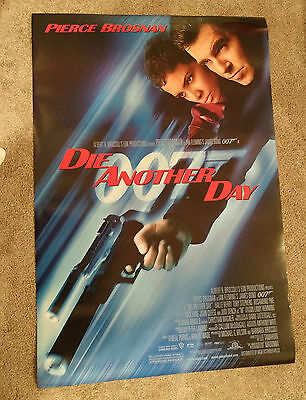 James Bond Die Another Day (2002) Original One Sheet Movie Poster 27x40 DS