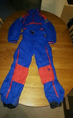 Vintage 1990's The North Face Extreme Full Body Snow Suit Ski Men's Medium USA