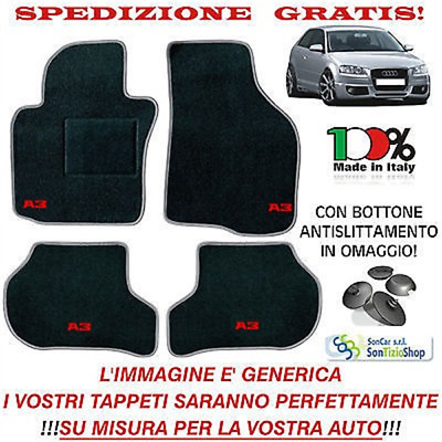 AUDI A3 8p8pa tailored car mats Customised, Car Carpets OFFER SPECIAL