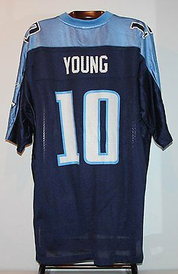 Maillot Trikot Jersey Foot Américain Nfl Us Vince Young Titans Tennessee 3XL