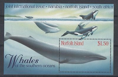 Norfolk 1998 Whales of the Southern Oceans MS MNH