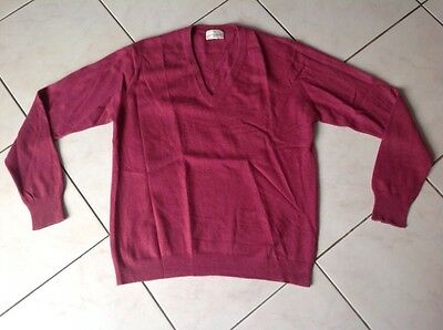 pull col V ERIC BOMPARD taille M 275€ comme neuf