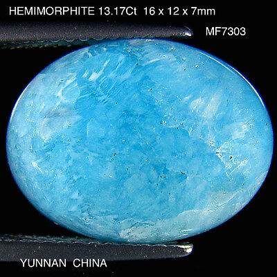 HEMIMORPHITE RARE GEMSTONE NATURAL MINED UNTREATED 13.17Ct  MF7303