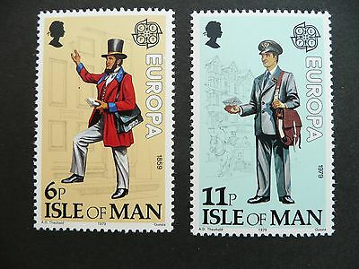 Mint Isle Of Man Europa Stamps 1979