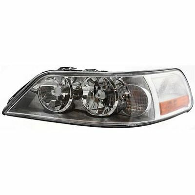 For 2003-2004 Lincoln Town Car Driver Side Halogen Headlight Head Light Lamp LH