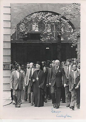 James Callaghan - Prime Minister - Signed - 1977 Photo